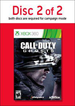 Call of Duty: Ghosts-Disc 2, Game on XBOX360, Shooter Video Games, ,  on XBOX360