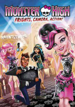 Monster High: Frights, Camera, Action, Movie on DVD, Family Movies, Kids Movies, ,  on DVD