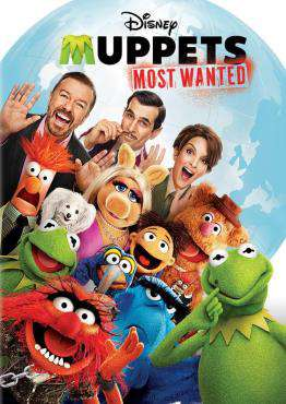 Muppets Most Wanted, Movie on Blu-Ray, Family Movies, Kids Movies, ,  on Blu-Ray