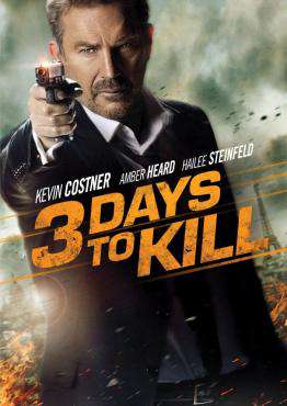 3 Days To Kill, Movie on Blu-Ray, Action Movies, Suspense Movies, ,  on Blu-Ray