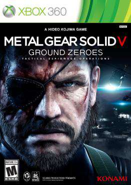 Metal Gear Solid V: Ground Zeroes, Game on XBOX360, Action-Games Games, ,  on XBOX360