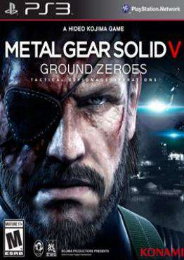 Metal Gear Solid V: Ground Zeroes, Game on PS3, Action-Games Games, ,  on PS3