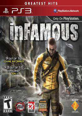 inFAMOUS, Game on PS3, Action Video Games, ,  on PS3