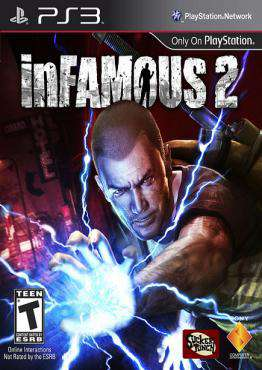 inFAMOUS 2, Game on PS3, Action Video Games, ,  on PS3