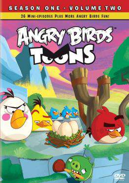 Angry Birds: Season 1 - Volume 2, Movie on DVD, Family Movies, Kids Movies, ,  on DVD