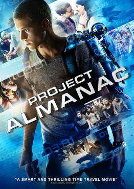 Project Almanac, Movie on DVD, Action Movies, Sci-Fi & Fantasy Movies, Suspense Movies, ,  on DVD