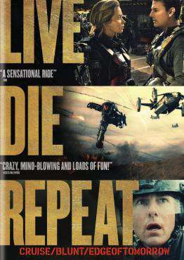 Live Die Repeat: Edge of Tomorrow, Movie on DVD, Action Movies, Sci-Fi & Fantasy Movies, Adaptation Movies, Sci-Fi Movies, ,  on DVD