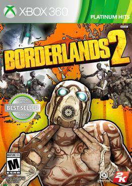 Borderlands 2 Platinum Hits, Game on XBOX360, Shooter Games, ,  on XBOX360