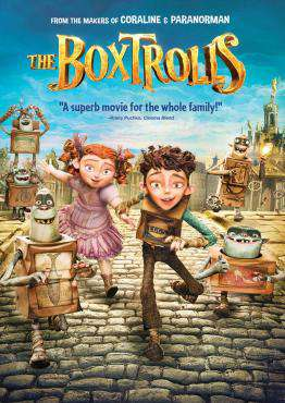 The Boxtrolls, Movie on Blu-Ray, Family Movies, Kids Movies, Animation Movies, ,  on Blu-Ray