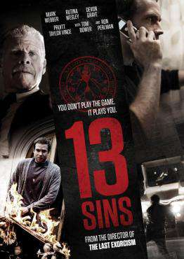13 Sins, Movie on DVD, Horror Movies, Suspense Movies, ,  on DVD