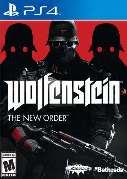 Wolfenstein: the New Order, Game on PS4, Shooter Video Games, ,  on PS4