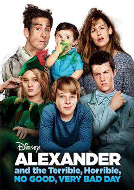 Alexander and the Terrible, Horrible, No Good, Very Bad Day, Movie on DVD, Family Movies, Comedy Movies, ,  on DVD