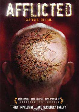 Afflicted, Movie on DVD, Horror Movies, Suspense Movies, ,  on DVD