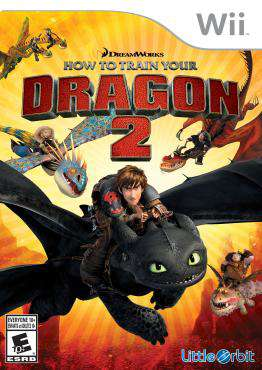 How to Train Your Dragon 2, Game on Wii, Action Video Games, ,  on Wii