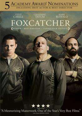 Foxcatcher, Movie on Blu-Ray, Drama Movies, new movies, new movies on Blu-Ray