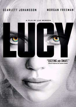 Lucy (Blu-Ray), Movie on Blu-Ray, Action Movies, Sci-Fi & Fantasy Movies, Suspense Movies, ,  on Blu-Ray