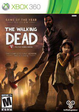 The Walking Dead Game of the Year, Game on XBOX360, Action Video Games, ,  on XBOX360
