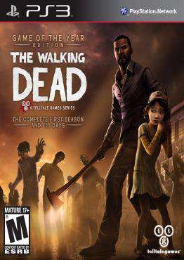 The Walking Dead Game of the Year, Game on PS3, Action Video Games, ,  on PS3