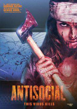Antisocial, Movie on DVD, Horror Movies, Suspense Movies, ,  on DVD