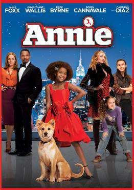 Annie (2014), Movie on DVD, Family Movies, Adaptation Movies, Musical Movies, ,  on DVD