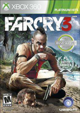 Far Cry 3, Game on XBOX360, Shooter Video Games, ,  on XBOX360