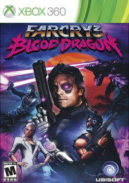 Far Cry 3: Blood Dragon, Game on XBOX360, Shooter Video Games, ,  on XBOX360