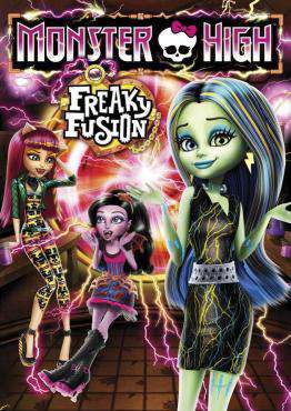 Monster High: Freaky Fusion, Movie on DVD, Family Movies, ,  on DVD