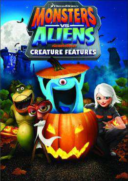 Monsters Vs. Aliens: Creature Features, Movie on DVD, Family Movies, Kids Movies, ,  on DVD