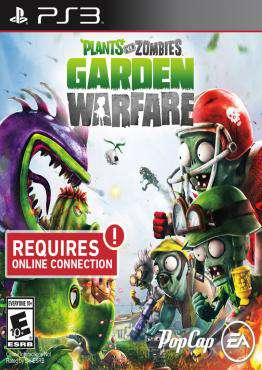 Plants vs. Zombies Garden Warfare, Game on PS3, Shooter Video Games, ,  on PS3