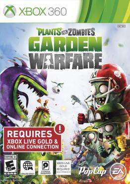 Plants vs. Zombies Garden Warfare, Game on XBOX360, Shooter Video Games, ,  on XBOX360