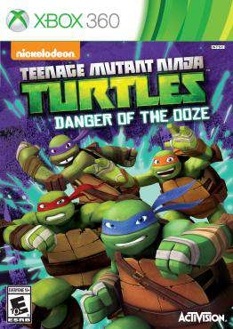 Teenage Mutant Ninja Turtles: Danger of the Ooze, Game on XBOX360, Action Video Games, ,  on XBOX360