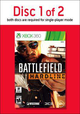Battlefield Hardline - Disc 1, Game on XBOX360, Shooter Video Games, ,  on XBOX360