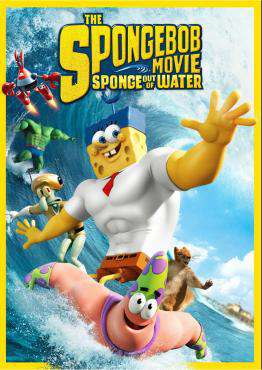 Spongebob: Sponge Out Of Water, Movie on Blu-Ray, Family Movies, Kids Movies, Animation Movies, ,  on Blu-Ray