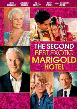 The Second Best Exotic Marigold Hotel, Movie on Blu-Ray, Comedy Movies, Drama Movies, ,  on Blu-Ray