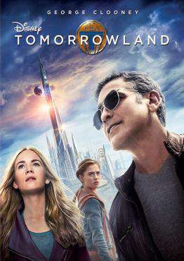 Tomorrowland, Movie on DVD, Family Movies, Adventure Movies, Sci-Fi & Fantasy Movies, ,  on DVD