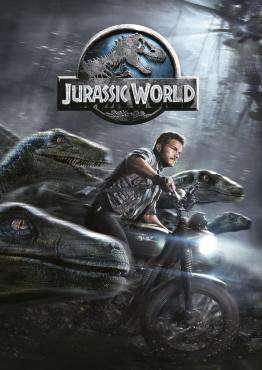 Jurassic World, Movie on Blu-Ray, Action Movies, Adventure Movies, Sci-Fi & Fantasy Movies, new movies, new movies on Blu-Ray