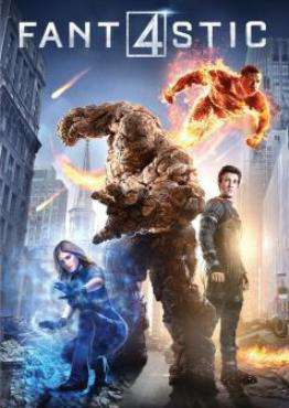 The Fantastic Four (2015), Movie on Blu-Ray, Action Movies, Adventure Movies, Sci-Fi & Fantasy Movies, ,  on Blu-Ray