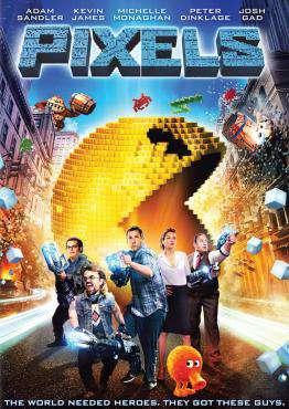 Pixels, Movie on Blu-Ray, Comedy Movies, Sci-Fi & Fantasy Movies, ,  on Blu-Ray