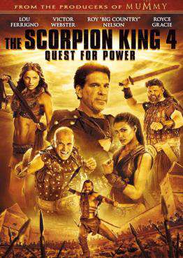 Scorpion King 4: Quest For Power, Movie on DVD, Action Movies, Adventure Movies, ,  on DVD