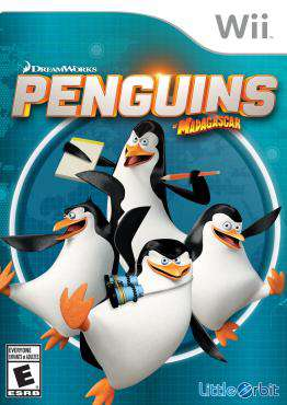 The Penguins of Madagascar, Game on Wii, Family Video Games, ,  on Wii