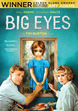 Big Eyes, Movie on DVD, Drama Movies, new movies, new movies on DVD