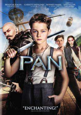 Pan, Movie on Blu-Ray, Family Movies, Adventure Movies, ,  on Blu-Ray