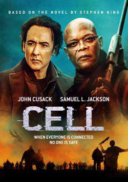 Cell (2015), Movie on Blu-Ray, Horror Movies, Suspense Movies, ,  on Blu-Ray