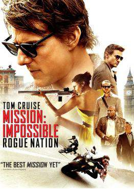 Mission Impossible: Rogue Nation, Movie on DVD, Action Movies, ,  on DVD