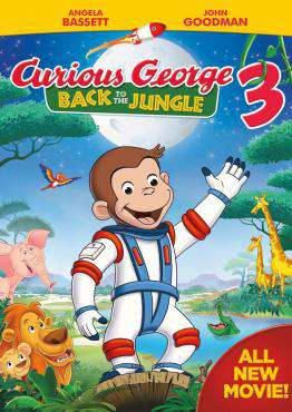 Curious George3: Back To The Jungle, Movie on DVD, Family Movies, Animation Movies, ,  on DVD