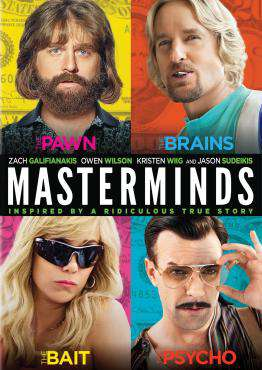 Masterminds, Movie on Blu-Ray, Comedy Movies, ,  on Blu-Ray
