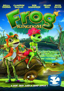 Frog Kingdom, Movie on DVD, Family Movies, Kids Movies, Animation Movies, ,  on DVD