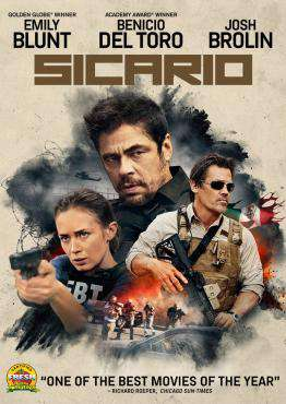 Sicario, Movie on Blu-Ray, Drama Movies, Suspense Movies, new movies, new movies on Blu-Ray