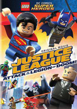 LEGO DC Super Heroes: Justice League: Attack of the Legion of Doom!, Movie on DVD, Action Movies, Family Movies, Adventure Movies, Kids Movies, ,  on DVD