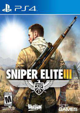 Sniper Elite III: Afrika, Game on PS4, Shooter Video Games, ,  on PS4